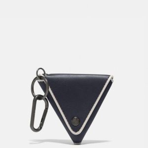 Coach Triangle Coin Pouch